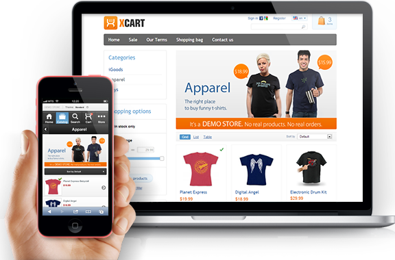 E commerce website design capetown